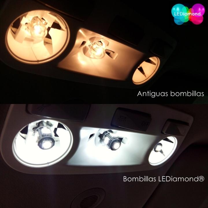 luces interior renault megane iii